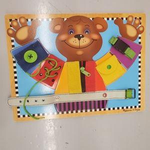 Melissa & Doug Toys | Basic Skills Board
